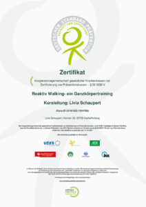 Zertifikat Reaktiv Walking
